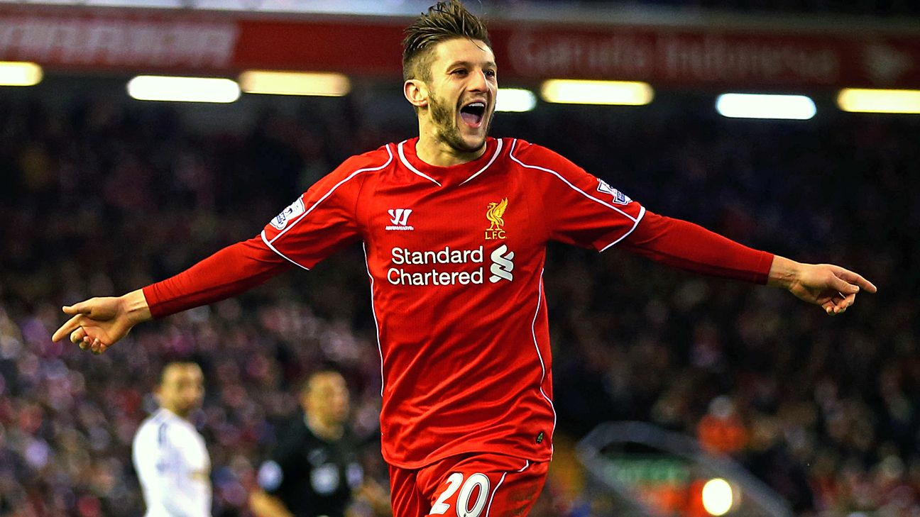 lallana-winger-midfied